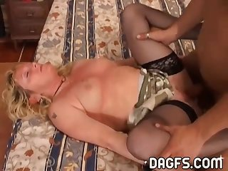 Italian Mature ravaged and nutted